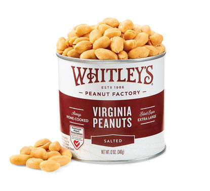 Picture of Salted Virginia Peanuts 12 oz.